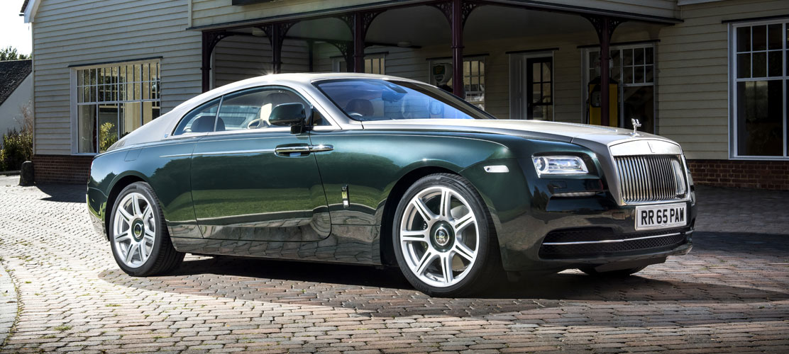 Limited Editions New Rolls Royce P A Wood